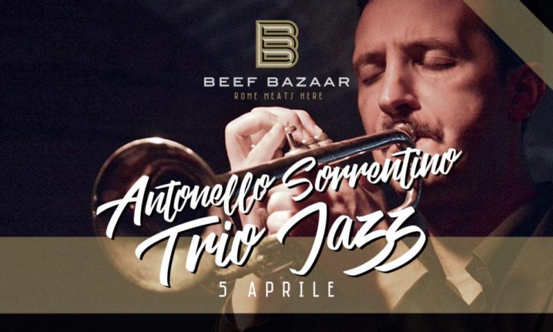 Beef Bazaar: Antonello Sorrentino – Trio Jazz